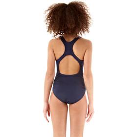 speedo Essential Endurance+ Medalist Swimsuit Girls Navy
